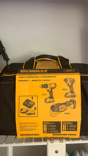 Dewalt 3 tool combo kit for Sale in Tarpon Springs, FL