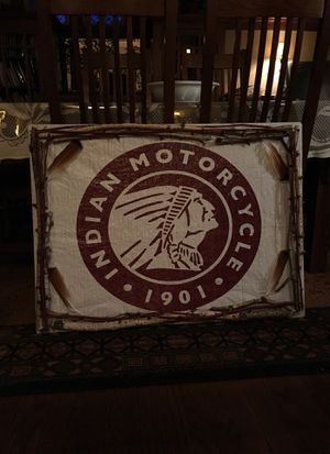 Indian Motorcycle Sign for Sale in Kenosha, WI