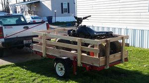 5 x 8 folding utility trailer for Sale in Pataskala, OH