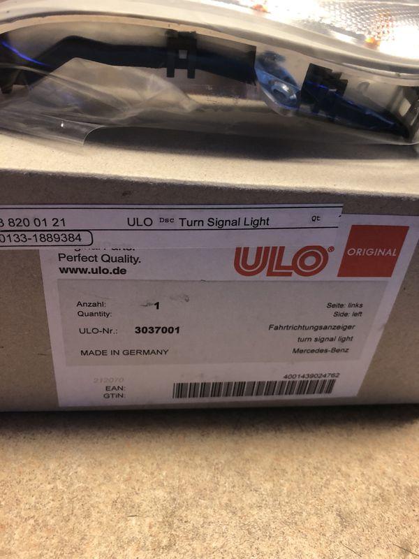 01-06 c class driver side marker light