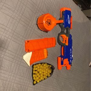 Nerf Hyperfire, 25 Barrel Mag, And 50 Headshot Rival Ammo. And Will Even Include A Nerf Rival Red Dot Scope. for Sale in Capay, CA