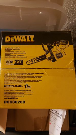 """Dewalt 12"""" chainsaw DCCS620B NEW SEALED for Sale in Keizer, OR"""