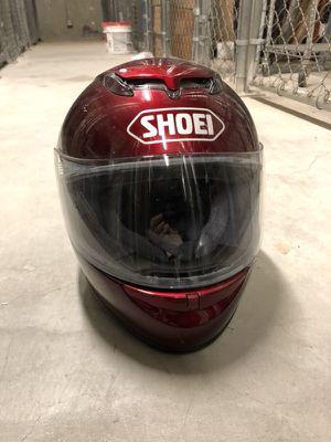 RED - SHOEI Motorcycle Helmet - XS for Sale in San Francisco, CA