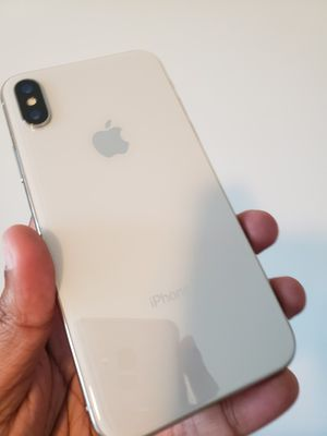iPhone X , 256 GB , UNLOCKED for All Company Carrier ,  Excellent Condition like New for Sale in Springfield, VA