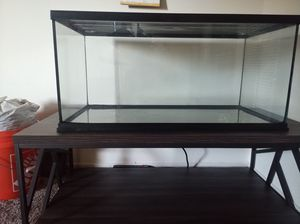 40gallon aquarium with 75gallon canister filter for Sale in West Sacramento, CA
