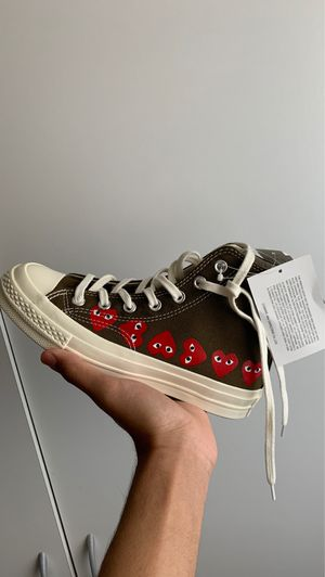 CDG x Converse High Beige Size 4 for Sale in Washington, DC