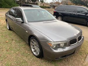 BMW 745li 2005 (rebuilt title) for Sale in Dallas, TX