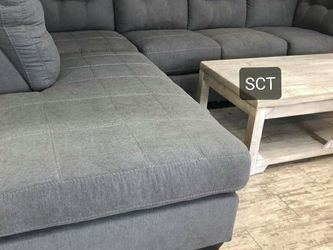 Maier Charcoal RAF Full Sleeper Sectional ↗️$39 Down Payment 100 Days Same As Cash for Sale in Austin,  TX