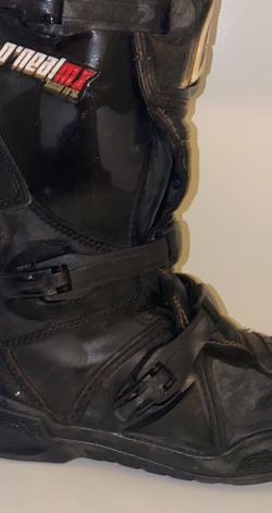 Black ,size 6 O'Neil Motocross Boots for Sale in San Angelo,  TX