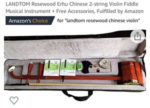 Rosewood 2 string Chinese Violin /fiddle for Sale in Alpharetta, GA