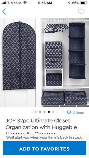 Closet organizer for Sale in Alameda, CA