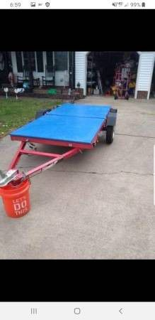 Like new 2016 folding utility / atv trailer for Sale in Moyock, NC