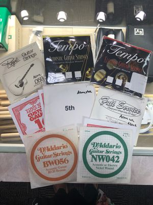Assorted Guitar Strings for Sale in Louisville, KY