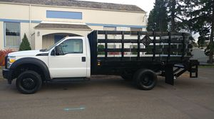 2014 Ford F450 flatbed dually for Sale in Portland, OR
