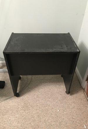 Black wood desk for Sale in Washington, DC
