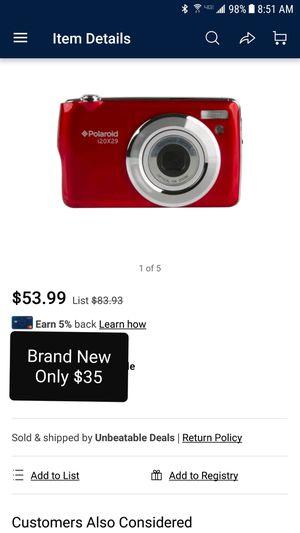 Brand New Polaroid Digital Camera for Sale in Sauk Rapids, MN