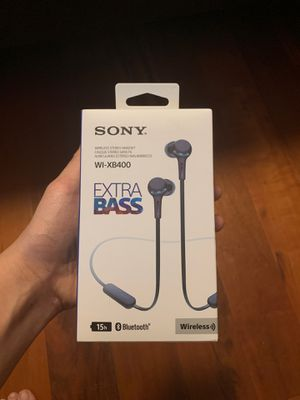 Earbuds/headphones Sony Wireless/Bluetooth for Sale in Land O' Lakes, FL