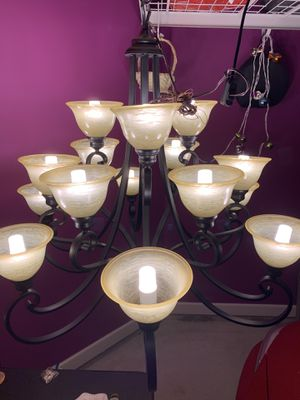 Design fountain chandelier for Sale in Cumming, GA