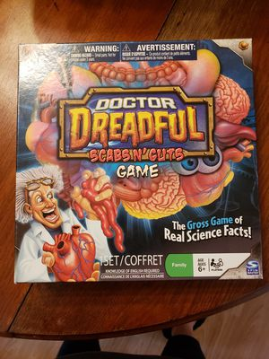 Doctor Dreadful Scabs N' Guts Game for Sale in Lakeland, FL