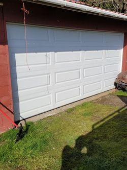 16x7 Garage Door Used $300 for Sale in Fairview,  OR