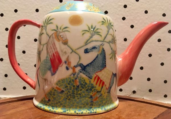 Anthropologie Paige gemmel teapot