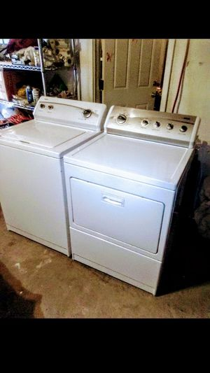 Washer and electric dryer working great for Sale in Fresno, CA