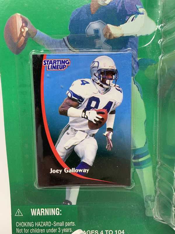Vintage Seattle Seahawks Great Joey Galloway STARTING LINEUP ACTION FIGURES (1) [Brand New]