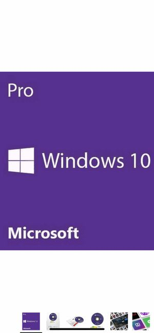 Microsoft Windows 10 Pro 64-BIT Operating System DVD (OEM) Licensed and Sealed for Sale in Port St. Lucie, FL