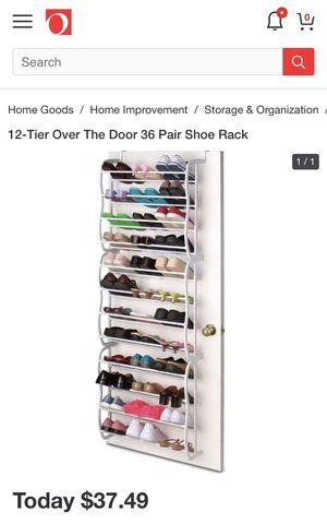 Over door shoe rack for Sale in New York, NY