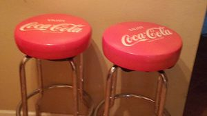 Coca-Cola Stools Swivel Barstools for Sale in Chandler, AZ