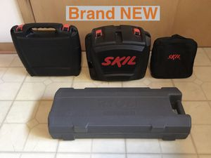 4 NEW SKIL RYOBI Power Tool Hard Soft CASES with Handles Hand Tools Storage Make an Offer for Sale in Rolling Meadows, IL