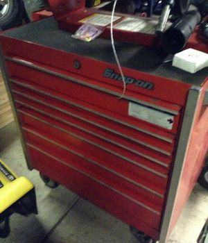 ABrand new toolBox seven drawers snap on tool box for Sale in Pittsburgh, PA