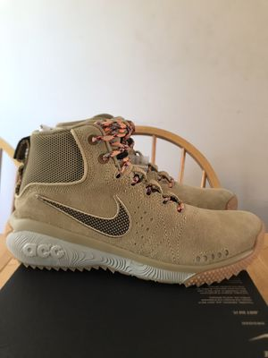 Brand new Nike ACG angels rest beige shoes boots men's 6, 7, 7.5, Youth 6y, 7y, women's 7.5, 8.5, 9 for Sale in Spring Valley, CA