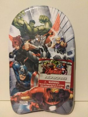 Marvel Avengers Kickboard - Kid's Pool Toy - Swimming Fun for Sale in East Peoria, IL