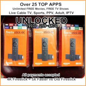 unlocked fire TV stick 4k for Sale in New York, NY
