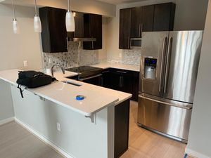 Electrolux Dishwasher, Electrolux Stove, Electrolux Fridge, GE Microwave + Cabinets for Sale in Washington, DC