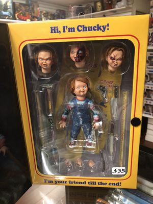 """Ultimate Chucky Good Guys Chucky Child's Play NECA Reel Toys 4"""" Inch for Sale in La Habra Heights, CA"""