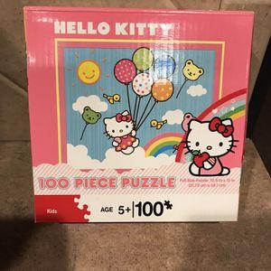 Hello Kitty 100 Pc Puzzle In Box for Sale in Cibolo, TX