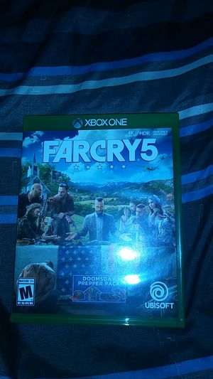 FarCry 5 For Xbox One for Sale in Maynard, MA