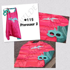 Pterosaurs Cape and Mask Set (Great for Easter Baskets!) for Sale in South Jordan, UT