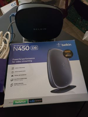 Belkin Wifi Dual Band N Router for Sale in Peoria, AZ