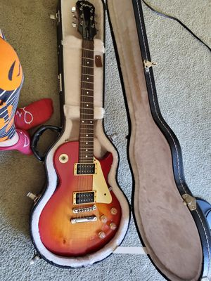 Epiphone cherry sunburst. My old punk guitar. for Sale in San Diego, CA