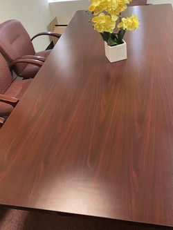 Conference Table With 8 Chair ($300) for Sale in Los Angeles,  CA