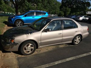 2000 Toyota Corolla LE - 199K miles - Ohio Registration - Need to go ASAP for Sale in Fairfax, VA