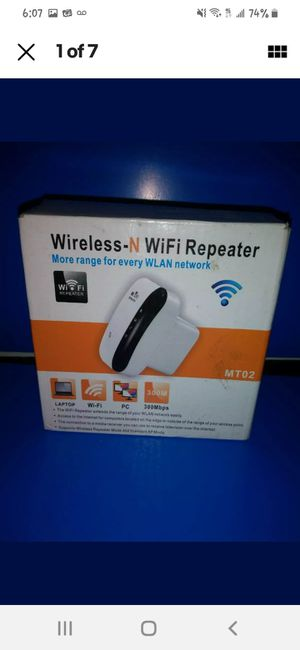 Wireless, and wifi repeater for Sale in Sarcoxie, MO