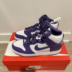 Nike Women's Dunk High SP Varsity Purple DC5382-100 Size 8.5W / Men's Size 7 for Sale in Tustin, CA