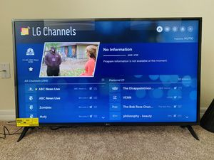 LG 50 inch Class 4k Smart UHD TV with AI ThinQ - 2019 for Sale in Melbourne, FL