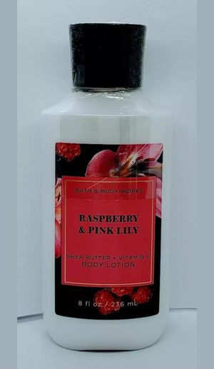 Bath and Body Works Raspberry & Pink Lily Body Lotion 8 fl oz NEW for Sale in Shelbyville, TN