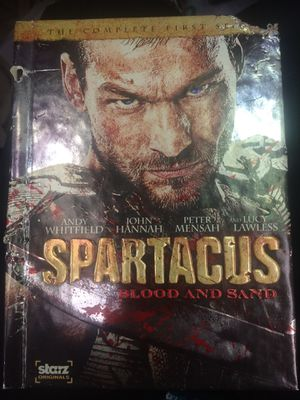 Spartacus Blood and Sand The Complete First Season DVD set for Sale in Harrisburg, NC