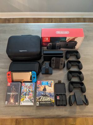 Nintendo Switch Mega Kit w/ Limited Edition Game for Sale in Rancho Cucamonga, CA